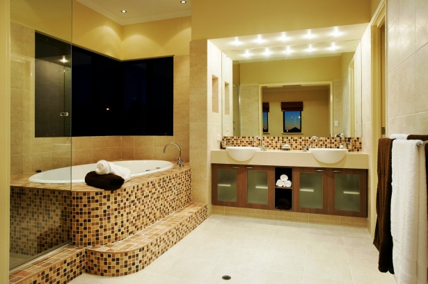 Inspirational Bathroom Designs Ideas Bring Out Natural And Cool Touch: Retro Modern Bathroom Design Elegant Bathroom Designs Ideas ~ stevenwardhair.com Bathroom Design Inspiration