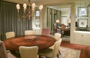Stylish Dining Room Sticking Out Modesty Ideas In Your Home : Round Table In The Dining Room
