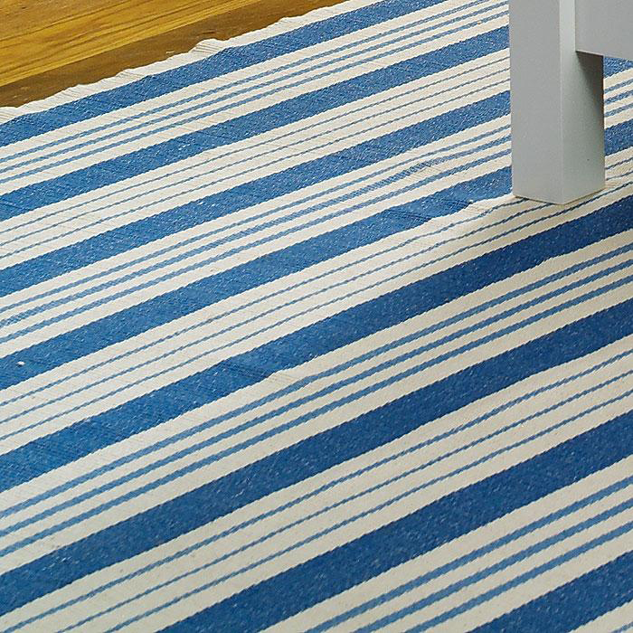 Beautify Your Space With Aesthetic Scandinavian Rugs: Scandinavian Striped Rug