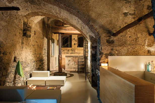 Top Historical Fragments With Modern Design In Sicily: Sensational Hotel Interior Design In Lounge With Rustic Contemporary Design Ideas ~ stevenwardhair.com Architecture Inspiration