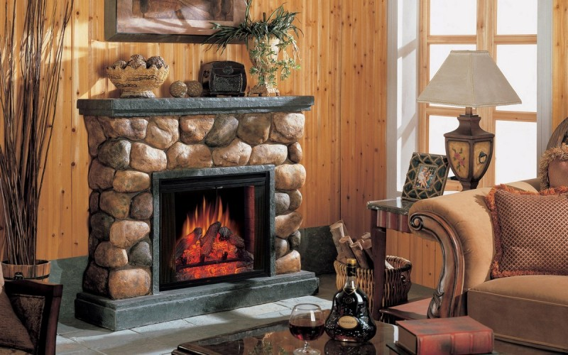 Fireplace Mantel Kits Ideas : Shelf Mantel Fireplace Kits