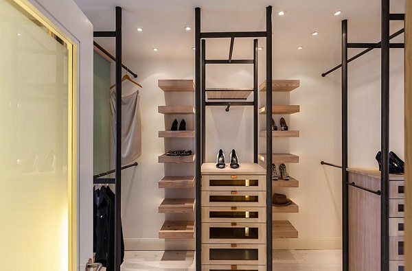 15 Exclusive Images Of Stockholm Apartment : Shoe Storage In Style