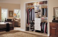 Closet Ideas For Bedroom And Floors : Simple Modern Closet Ideas Contemporary Bedroom With Darkwood Dresser