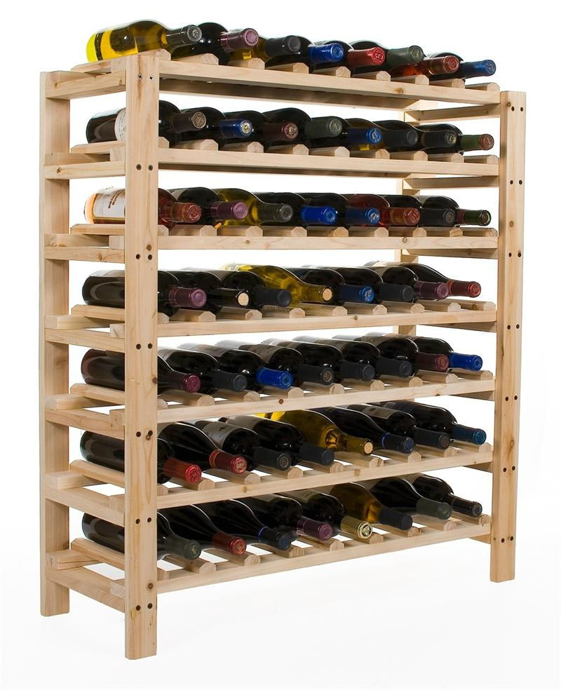 Eclectic Wine Rack For Contemporary House : Simple Wine Rack Design Semi Custom Wine Rack Design Ideas