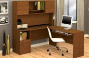 Computer Workstation Ideas, Do Not Be Afraid To Be Creative : Simple Wooden Computer Workstation