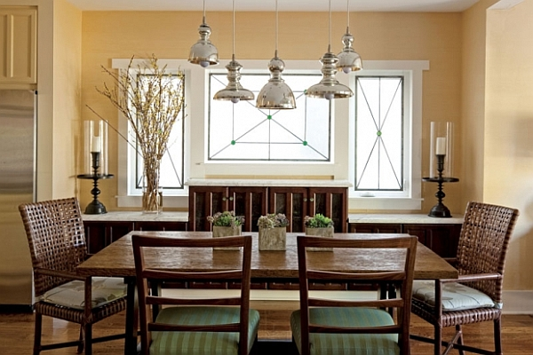 Fascinating Dining Room Decoration Offers Comfort Taste : Sleek Dining Room Furniture