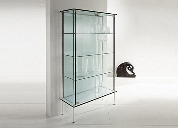10 Images Of Stylish Glass Cabinets: Sleek Glass Cabinet ~ stevenwardhair.com Cabinets Inspiration