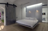 29 Pictures Of Hanging Bed Design Ideas : Sleek Modern Hanging Bed Perfect For The Contemporary Home