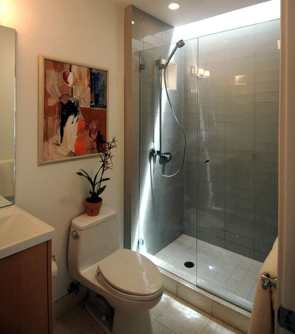 Sleek Sliding Door Showers: 11 Images: Sliding Glass Door Shower Enclosure In An Asian Styled Bathroom