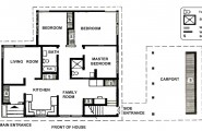 Two Bedroom House Plans For Family : Small Two Bedroom House Plans Free Design Architecture