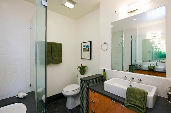 Privacy Bathroom Selection: 13 Inspiring Ideas: Small Wall For Toilet Privacy