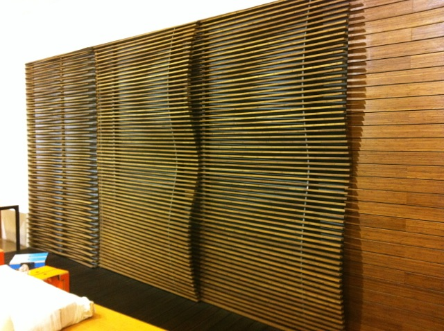 Bamboo Wall Panels Bring You To The Real Tradition: Solid Bamboo Wall Cladding