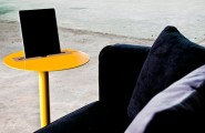 Contemporary Futuristic Home Furniture Comes With The Great Design : Spells Nomad Table