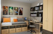 Storage Ideas For Small Bedrooms Efficient Way To Store The Things : Storage Ideas For Cool Small Teens Bedrooms
