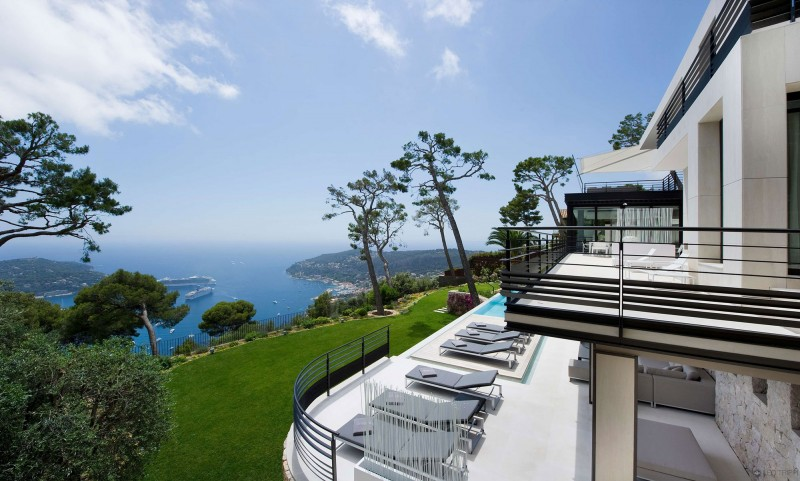 18 Images Of Lovely French Villa Design : Stunning French Villa Design French Riviera