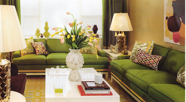 Green Sofas And Eco Friendly Furniture: Stunning Green Sofas Modern Elegant Accents With White Coffee Table ~ stevenwardhair.com Sofas Inspiration