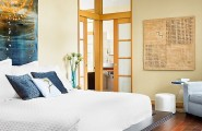 Adorable Asian Architectural Residence So Traditional With Wood Accent : Stunning Master Bedroom Of Tarrytown Residence By Webber Studio Architects
