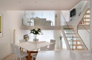 Nice White Interior For Clean And Cozy Look : Stunning Modern Interiors Inside The Highgate Designed By TG Studio