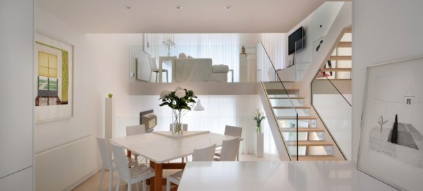 Nice White Interior For Clean And Cozy Look: Stunning Modern Interiors Inside The Highgate Designed By TG Studio ~ stevenwardhair.com Interior Design Inspiration