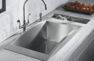Amazing Kohler Stainless Steel Sinks Bring IN The Practical Use In Stylish Form : Stunning Modern Kohler Stainless Steel Chrome Faucets Design