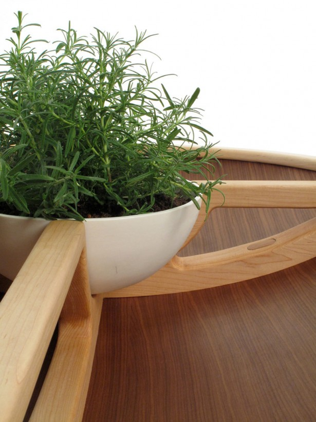 Intriguing Table And Chair Made From Well Done Handcraft Project: Stylish And Natural Green Plant Ideas Placed Inside The Spire Table ~ stevenwardhair.com Chairs Inspiration
