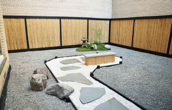 28 Fascinating Japanese Garden Design Ideas : Stylish Japanese Garden Taking Shape In The Heart Of Manhattan