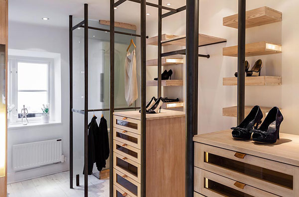 15 Exclusive Images Of Stockholm Apartment: Stylish Shoe Storage