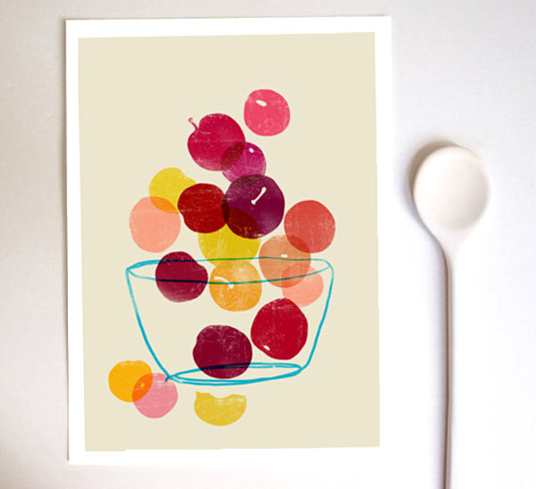 Delicious Fruit Home Decor Ideas To Cheerful Interior: Summer Fruit Art