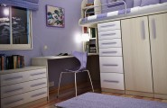 Lively Bedroom Ideas For Young Women That Will Refresh Your Mind : Sweet Purple Little Girls Bedroom Design Idea