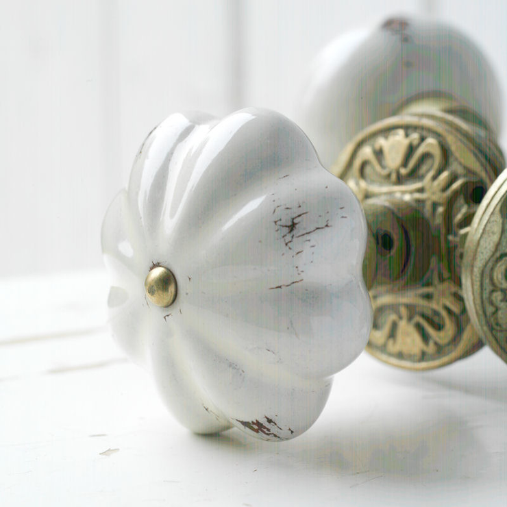 Shabby Chic Door Knobs For Your True Uniqueness : Talia Door Handle From The Orchard