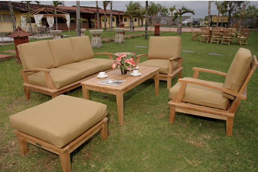 Teak Outdoor Furniture With The Interesting Design: Teak Garden Furniture