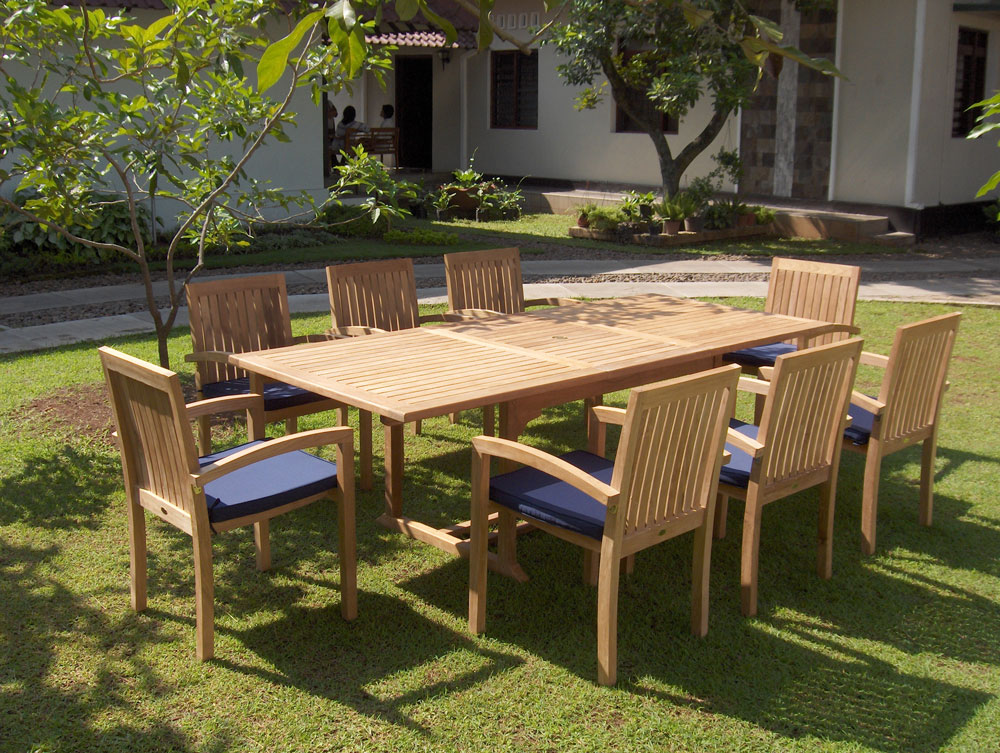Teak Outdoor Furniture With The Interesting Design: Teak Outdoor Furniture Care