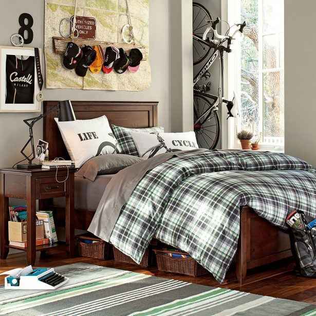 Inspirational Cool Room Designs For Guys With Directed Theme: Teen Bedding Design Idea ~ stevenwardhair.com Bedroom Design Inspiration