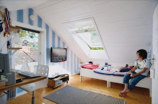 Variant Cool Bedroom Ideas For Guys Among Real Inspiring Design: Teen Boys Room In The Attic