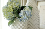 Beautiful Mother`s Day Gift Bring The Warmth To The Heart : Textured Vases In White
