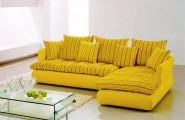 Yellow Sofas And Its Many Designs : The Yellow Sectional Sofa