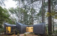 Creative Hut With Modern Style : Three Modular Part Of Eco Prefab Hut