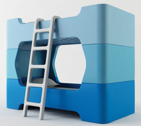 Fun Toddler Bunk Beds With Inspiring Ideas : Toddler Tower Bunk Beds Ideas