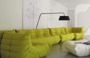 Togo Sofa Design That Comes With The Modern Idea : Togo Sofa By Michel Ducaroy