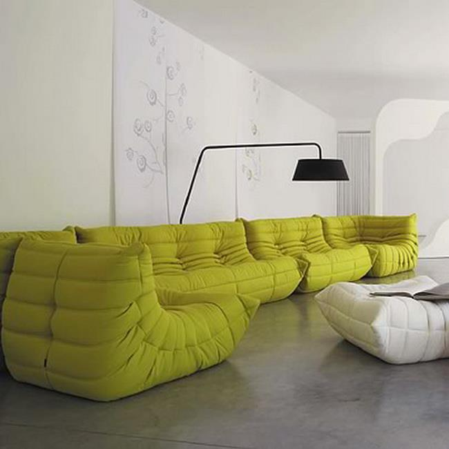 Togo Sofa Design That Comes With The Modern Idea: Togo Sofa By Michel Ducaroy