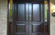 Inspiring Double Entry Doors For Home With Clear Design : Toronto Double Entry Door Model