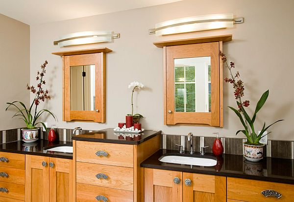 Bathroom Sink For Two: Traditional Bathroom Lighting