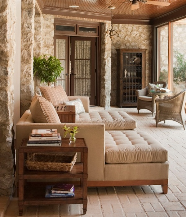 Enchanting Furniture Style To Furnish Sunroom Interior: Traditional Sunroom