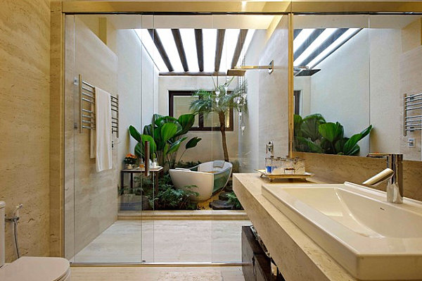 Amazing Tropical Bathroom Design Comes With The Unexpected Idea: Tropical Modern Bathroom ~ stevenwardhair.com Bathroom Design Inspiration
