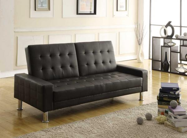 Cheap Sofa Beds: Brand Comparisons : Turin Sofa Bed In Black