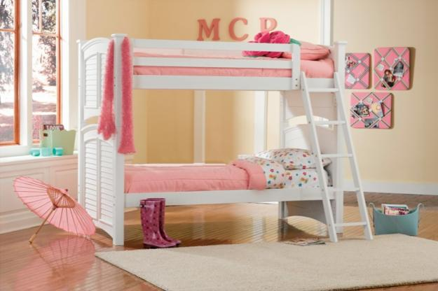 Twin Beds For Kids Comes With The Interesting Design: Twin Size Bunkbeds Kids Furniture Beds