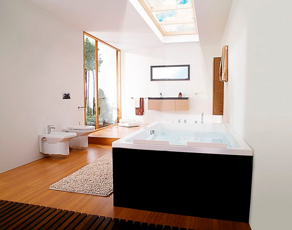 Bathtubs For Two: Love Is In The Air : Two Seater Rectangular Bathtub1