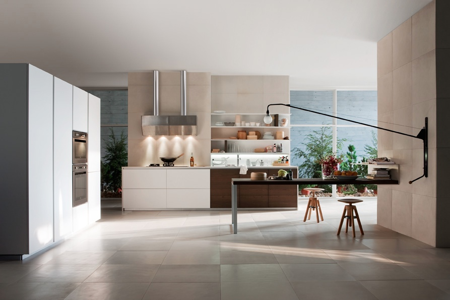 Smart Kitchen Designs With Personality Comes With Stunning Idea: Two Tone Kitchen Units
