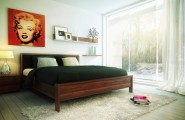 Smart And Playful Bedroom Style For Your Room : Understated Bedroom Decor Pop Art