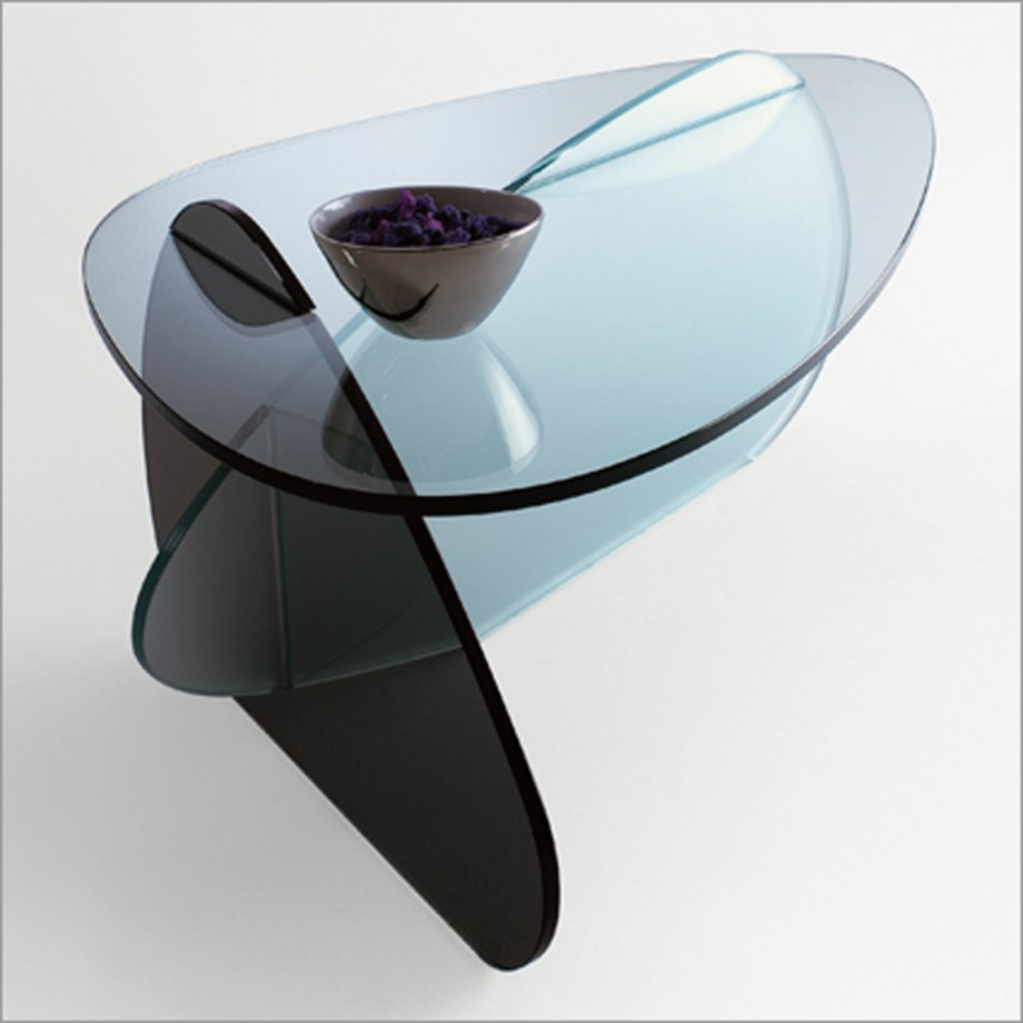 Etonnant Coffee Table Designs : Unique Glass Coffee Table